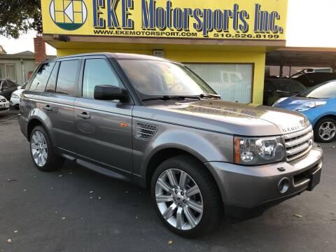 2008 Land Rover Range Rover Sport for sale at EKE Motorsports Inc. in El Cerrito CA