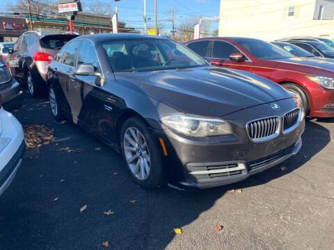 2014 BMW 5 Series for sale at Park Avenue Auto Lot Inc in Linden NJ