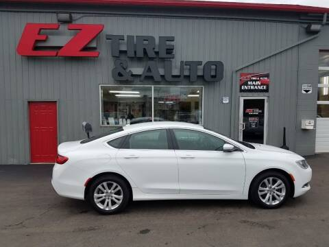 2015 Chrysler 200 for sale at EZ Tire & Auto in North Tonawanda NY