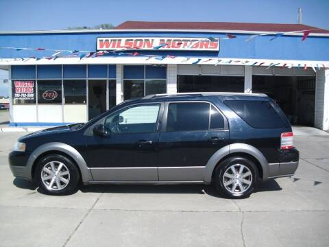2008 Ford Taurus X for sale at Wilson Motors in Junction City KS