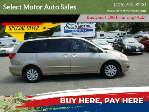 2007 Toyota Sienna for sale at Select Motor Auto Sales in Lynnwood WA
