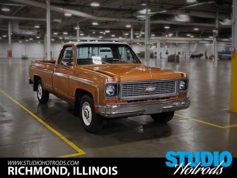 1973 Chevrolet 3/4 Ton Pickup for sale at Studio Hotrods in Richmond IL