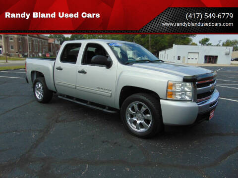 2010 Chevrolet Silverado 1500 for sale at Randy Bland Used Cars in Nevada MO