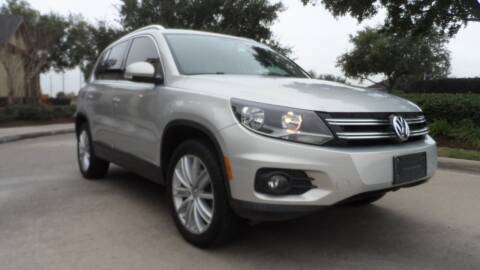 2012 Volkswagen Tiguan for sale at Exhibit Sport Motors in Houston TX