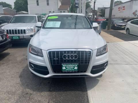 2012 Audi Q5 for sale at Park Avenue Auto Lot Inc in Linden NJ