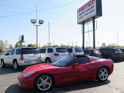 2007 Chevrolet Corvette for sale at United Auto Sales in Oklahoma City OK