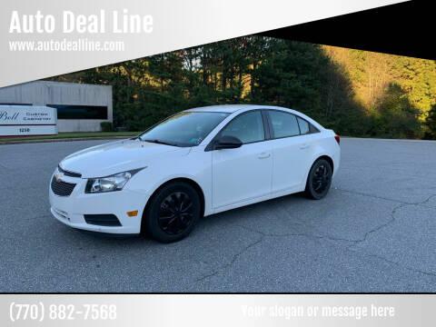 2014 Chevrolet Cruze for sale at Auto Deal Line in Alpharetta GA