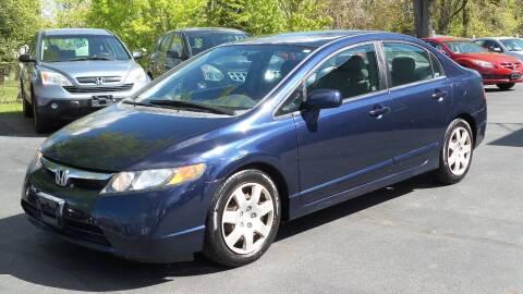 2008 Honda Civic for sale at JBR Auto Sales in Albany NY