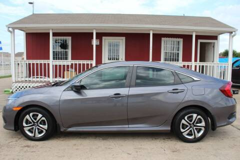 2017 Honda Civic for sale at AMT AUTO SALES LLC in Houston TX
