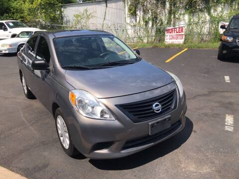 2014 Nissan Versa for sale at 4 Girls Auto Sales in Houston TX
