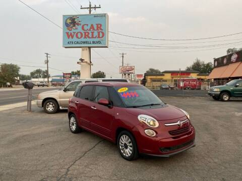 2014 FIAT 500L for sale at CAR WORLD in Nampa ID