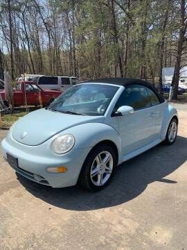 2005 Volkswagen New Beetle Convertible for sale at Delong Motors in Fredericksburg VA