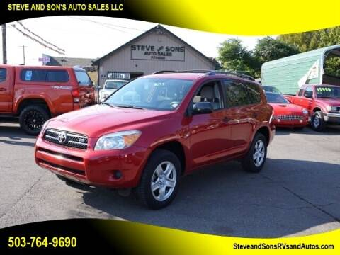 2008 Toyota RAV4 for sale at Steve & Sons Auto Sales in Happy Valley OR