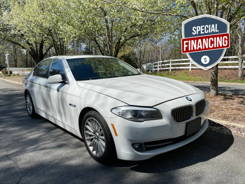 2013 BMW 5 Series for sale at Premier Auto Solutions & Sales in Quinton VA