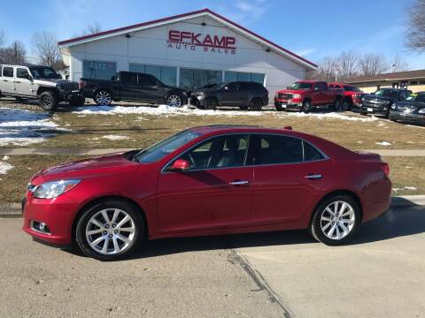 2014 Chevrolet Malibu for sale at Efkamp Auto Sales LLC in Des Moines IA