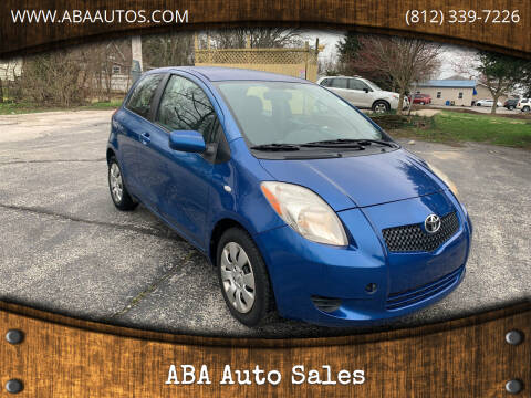 2008 Toyota Yaris for sale at ABA Auto Sales in Bloomington IN