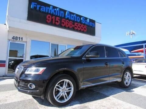 2013 Audi Q5 for sale at Franklin Auto Sales in El Paso TX