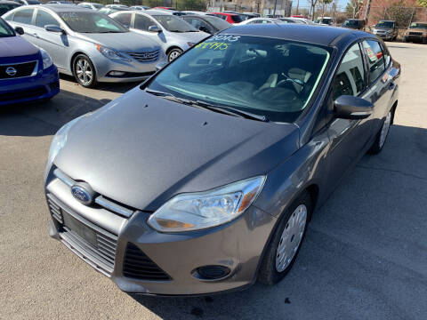2013 Ford Focus for sale at Legend Auto Sales in El Paso TX