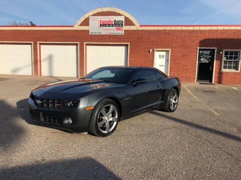 2012 Chevrolet Camaro for sale at Family Auto Finance OKC LLC in Oklahoma City OK