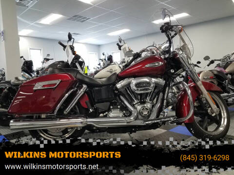 2016 Harley-Davidson SwitchBack Dyna for sale at WILKINS MOTORSPORTS in Brewster NY