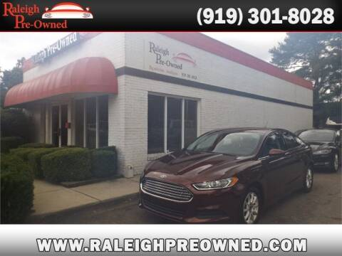 2016 Ford Fusion for sale at Raleigh Pre-Owned in Raleigh NC