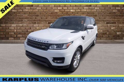 2014 Land Rover Range Rover Sport for sale at Karplus Warehouse in Pacoima CA
