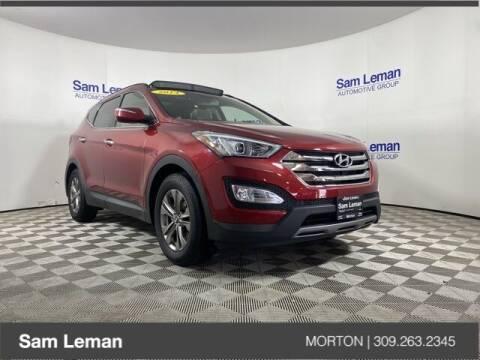 2014 Hyundai Santa Fe Sport for sale at Sam Leman CDJRF Morton in Morton IL