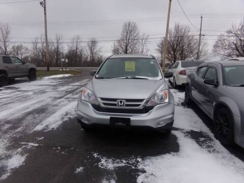 2010 Honda CR-V for sale at Pool Auto Sales Inc in Spencerport NY