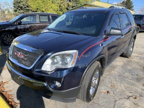 2012 GMC Acadia for sale at RPM AUTO SALES in Lansing MI