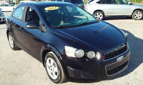 2014 Chevrolet Sonic for sale at Pinellas Auto Brokers in Saint Petersburg FL