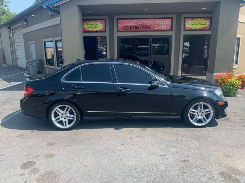 2014 Mercedes-Benz C-Class for sale at Advantage Auto Sales in Garden City ID
