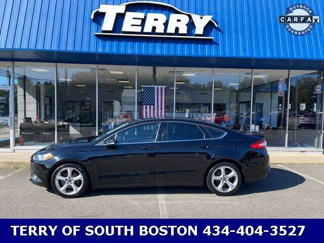 2016 Ford Fusion for sale at Terry of South Boston in South Boston VA