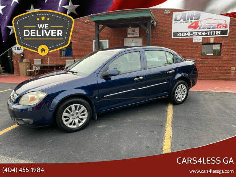 2009 Chevrolet Cobalt for sale at Cars4Less GA in Alpharetta GA