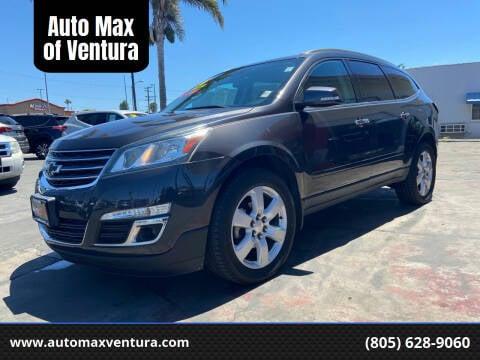 2016 Chevrolet Traverse for sale at Auto Max of Ventura in Ventura CA