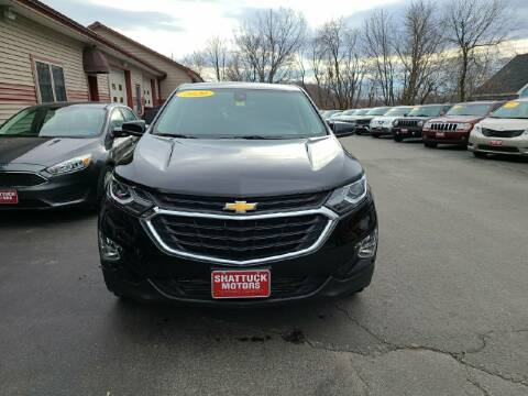 2020 Chevrolet Equinox for sale at Shattuck Motors in Newport VT