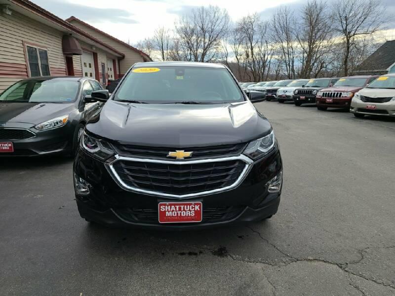 2020 Chevrolet Equinox for sale at Shattuck Motors in Newport VT