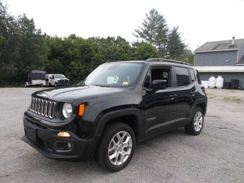 2018 Jeep Renegade for sale at Manchester Motorsports in Goffstown NH