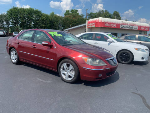 2006 Acura RL for sale at Doug White's Auto Wholesale Mart in Newton NC
