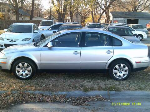 2005 Volkswagen Passat for sale at D & D Auto Sales in Topeka KS