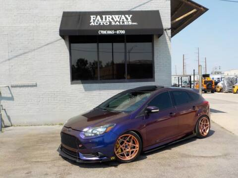 2013 Ford Focus for sale at FAIRWAY AUTO SALES, INC. in Melrose Park IL