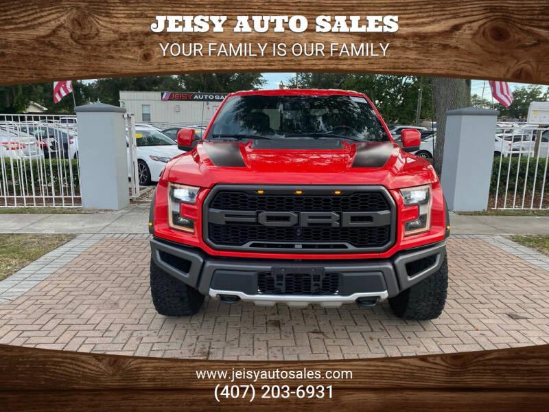 2018 Ford F-150 for sale at JEISY AUTO SALES in Orlando FL