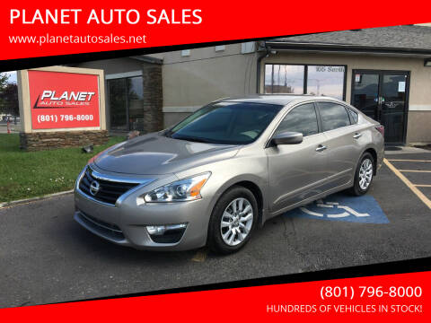 2014 Nissan Altima for sale at PLANET AUTO SALES in Lindon UT