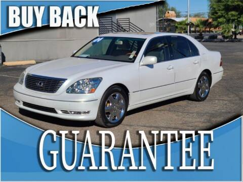 2004 Lexus LS 430 for sale at Reliable Auto Sales in Las Vegas NV