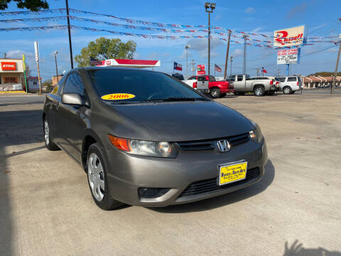 2006 Honda Civic for sale at Russell Smith Auto in Fort Worth TX