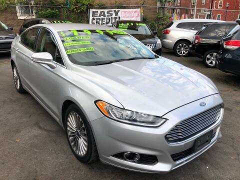 2014 Ford Fusion for sale at James Motor Cars in Hartford CT