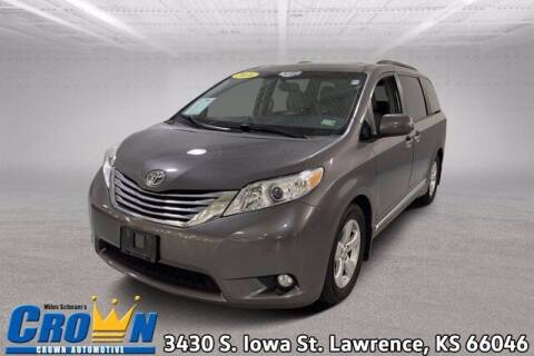 2016 Toyota Sienna for sale at Crown Automotive of Lawrence Kansas in Lawrence KS