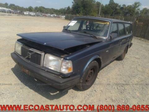 1989 Volvo 240 for sale at East Coast Auto Source Inc. in Bedford VA