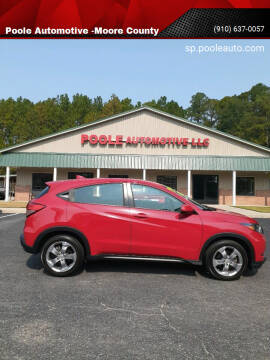 2018 Honda HR-V for sale at Poole Automotive in Laurinburg NC