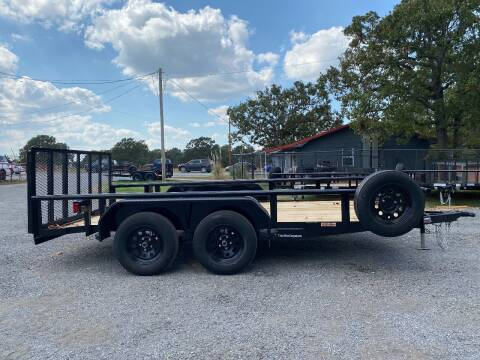"""2021 HD 83""""x14' Utility Trailer for sale at TINKER MOTOR COMPANY in Indianola OK"""