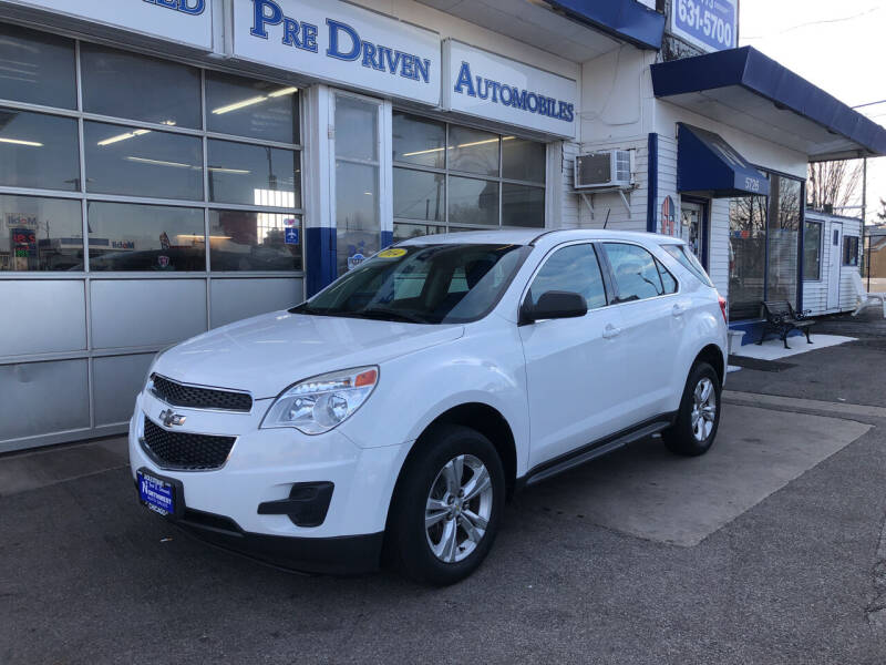 2014 Chevrolet Equinox for sale at Jack E. Stewart's Northwest Auto Sales, Inc. in Chicago IL